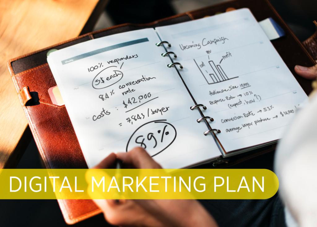 Digital Marketing Plan Blog