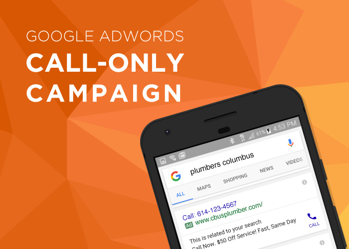 Google Adwords Call Only Ads